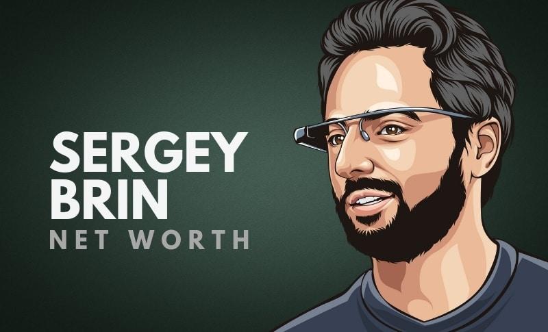 Sergey Brin's Net Worth
