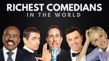 The Richest Comedians in the World 2018