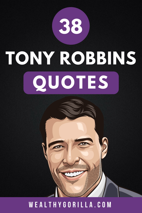 Tony Robbins Quotes Pin 1