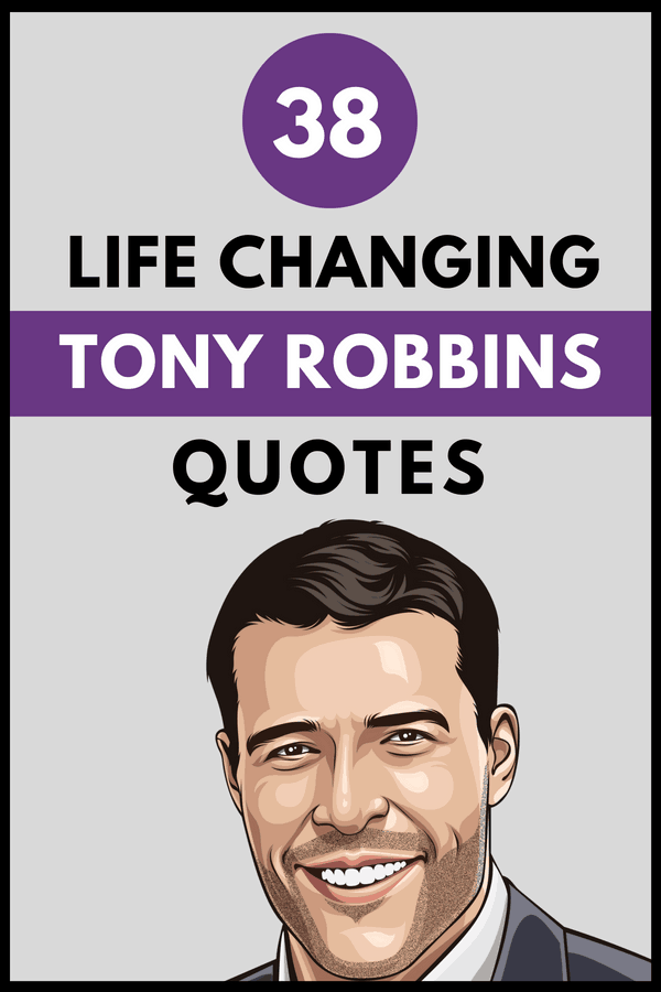 Tony Robbins Quotes Pin 3