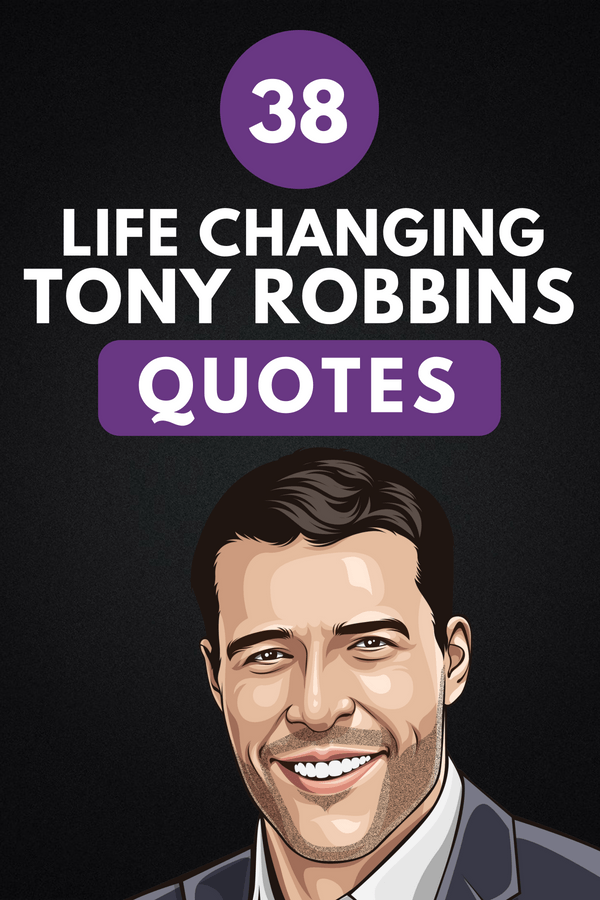 Tony Robbins Quotes Pin 2