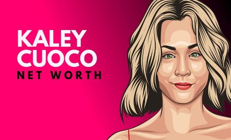Kaley Cuoco's Net Worth