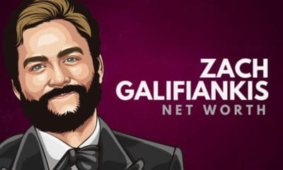 Zach Galifiankis' Net Worth