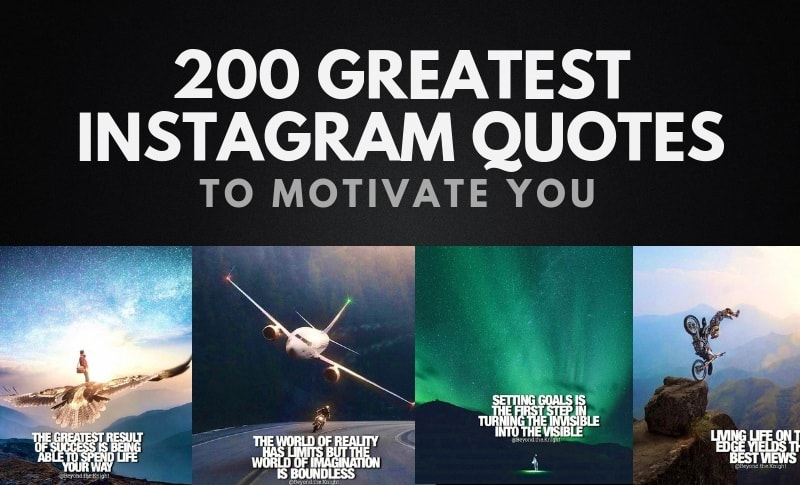 200 Of The Greatest Instagram Quotes About Success Wealthy Gorilla
