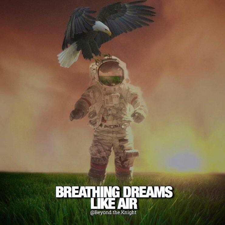 """""""Breathing dreams like air."""" - quote"""