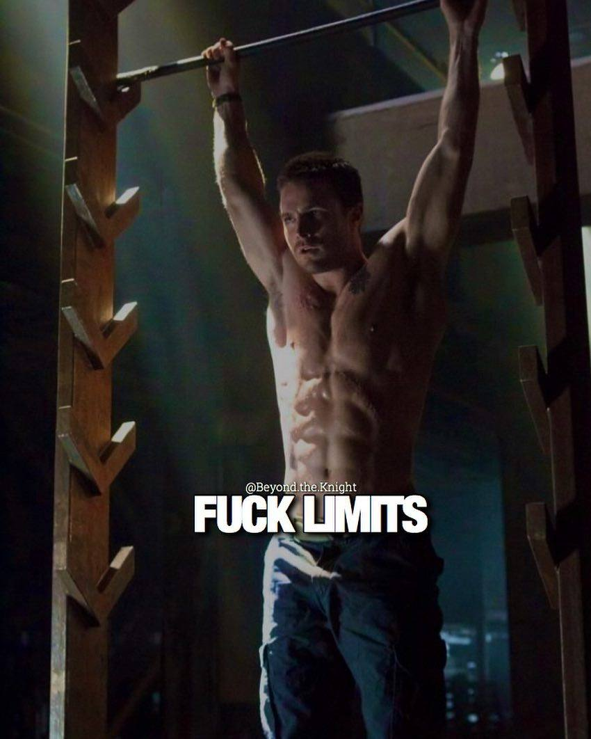 """""""F*** limits."""" - quote"""