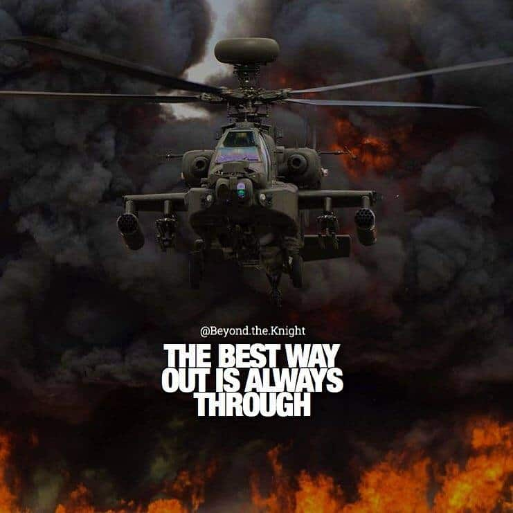 """""""The best way out is always through."""" - quote"""
