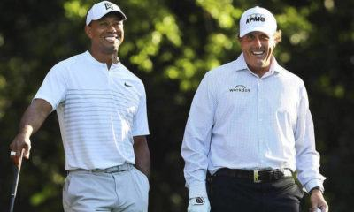 Phil Mickelson Beats Tiger Woods to Claim $9 Million+ Prize