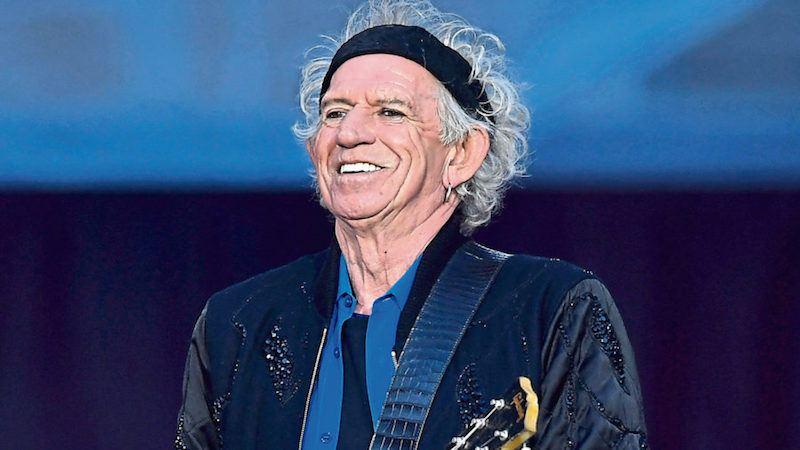 Richest Rockstars - Keith Richards