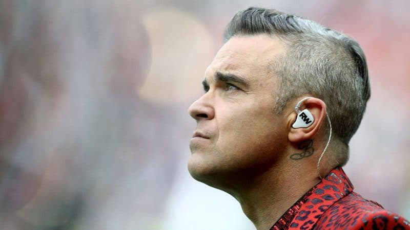 Richest Rockstars - Robbie Williams