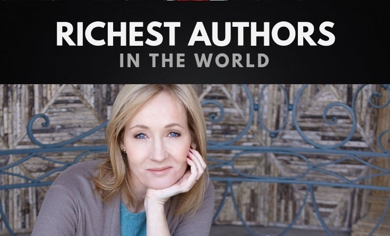 The Richest Authors in the World