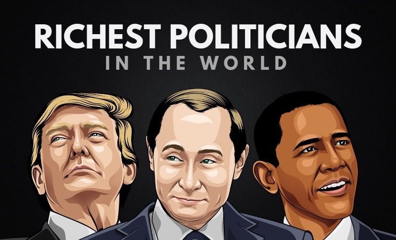 The Top 20 Richest Politicians in the World