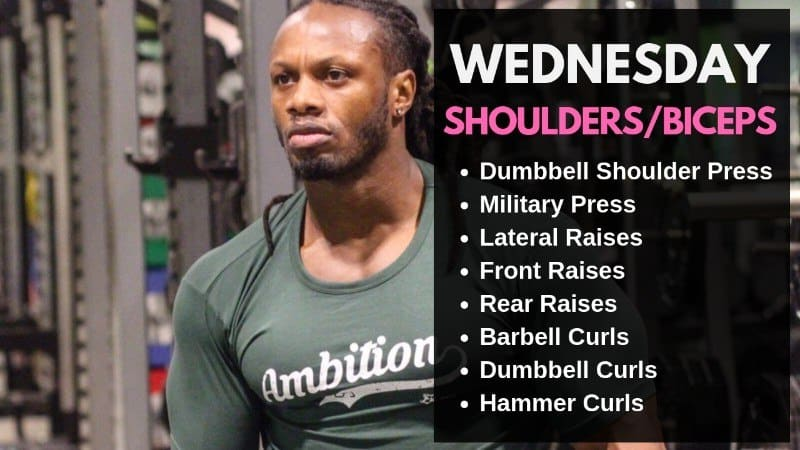 Ulisses Jr Workout Routine - Wednesday