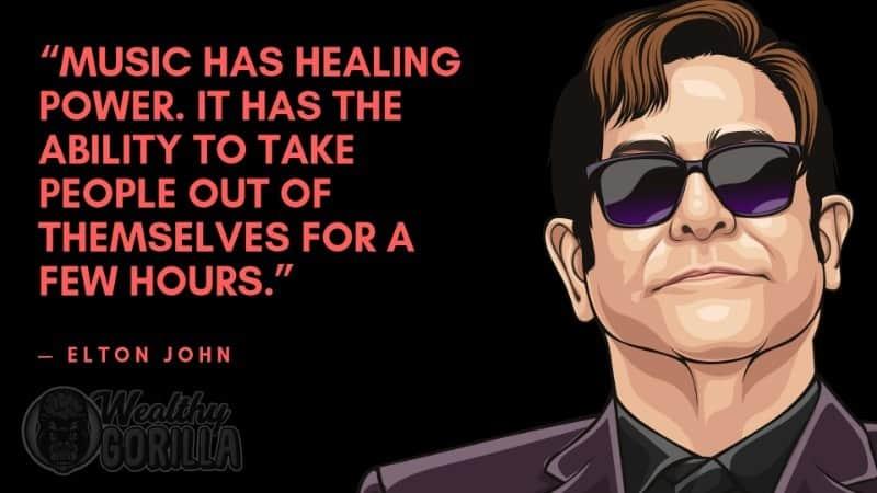 Best Elton John Quotes 1
