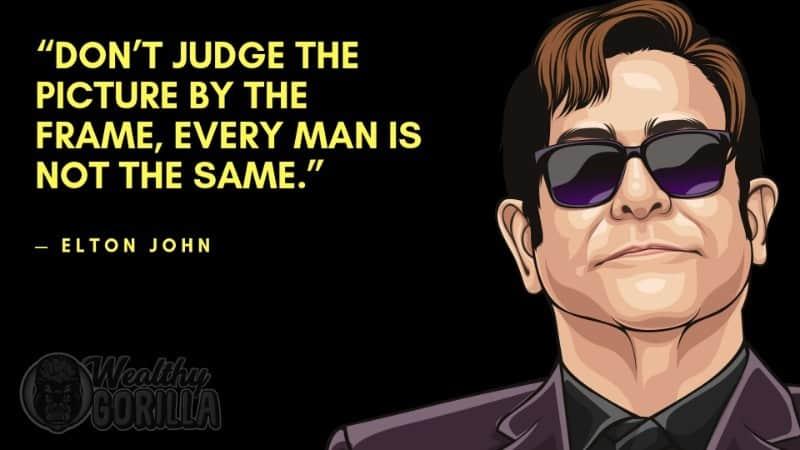 Best Elton John Quotes 2