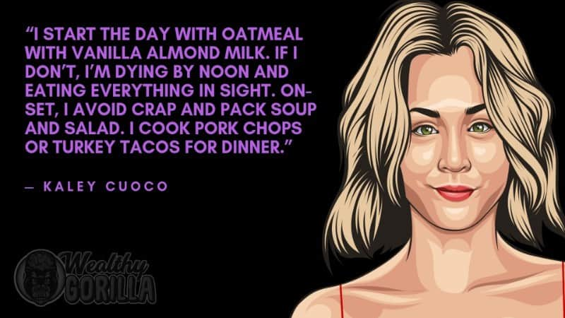 Best Kaley Cuoco Quotes 5