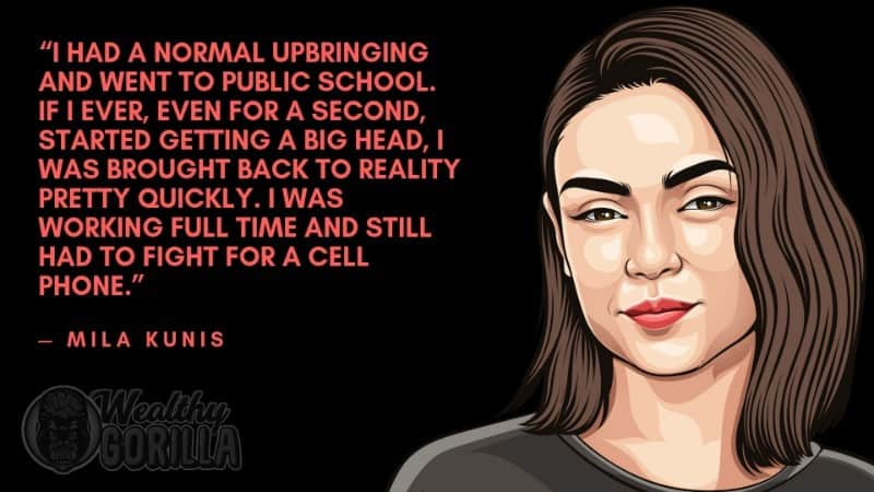 Best Mila Kunis Quotes 1