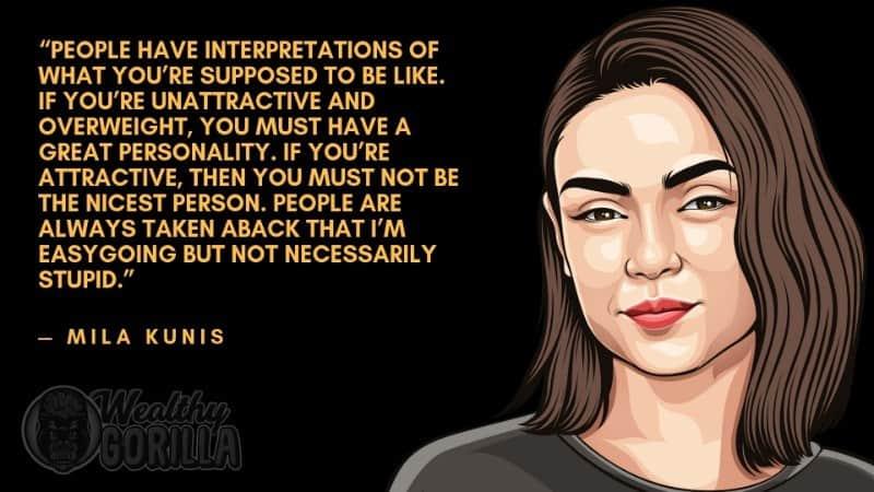 Best Mila Kunis Quotes 2