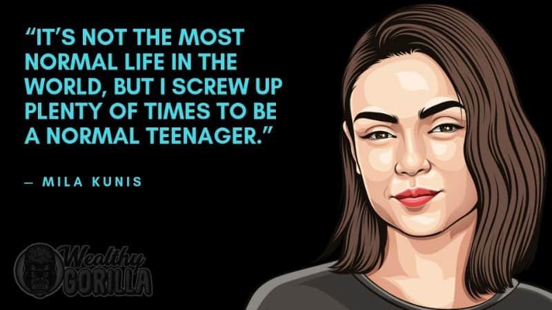 Best Mila Kunis Quotes 4