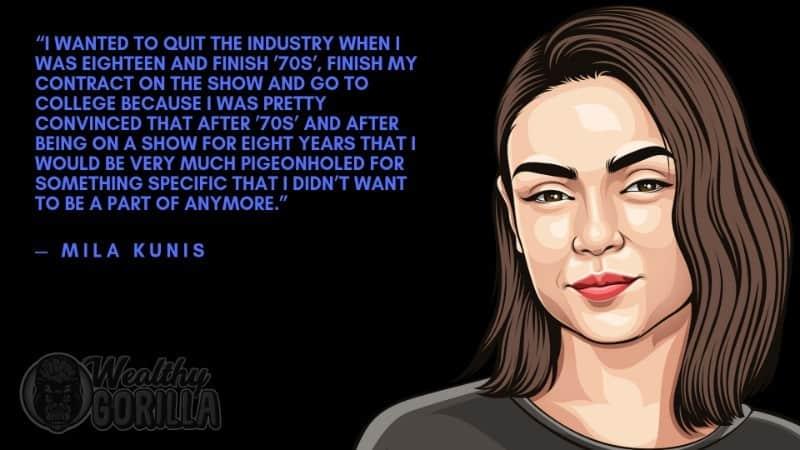 Best Mila Kunis Quotes 5