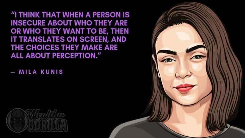 Best Mila Kunis Quotes 6