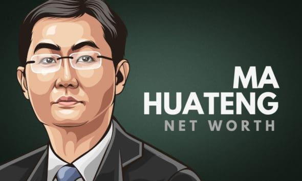 Ma Huateng's Net Worth