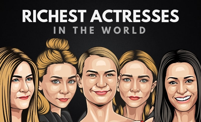 The 20 Richest Actresses in the World