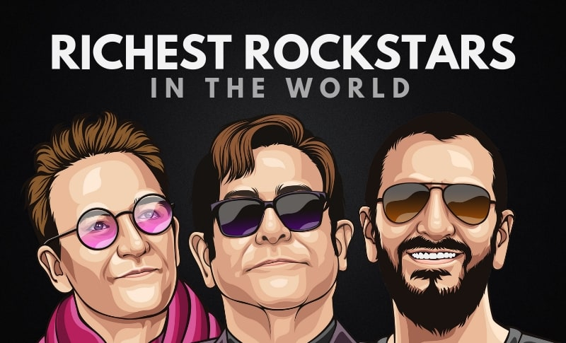 The Richest Rockstars