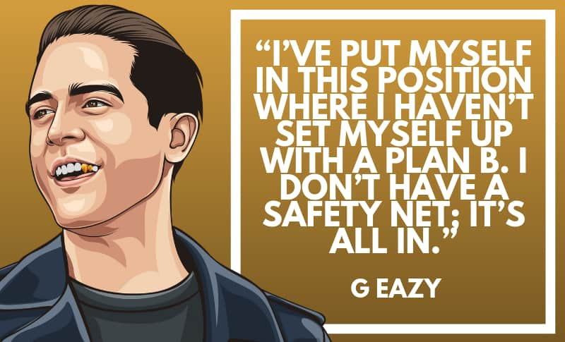 50 Motivational G-Eazy Quotes About His Life | Wealthy Gorilla