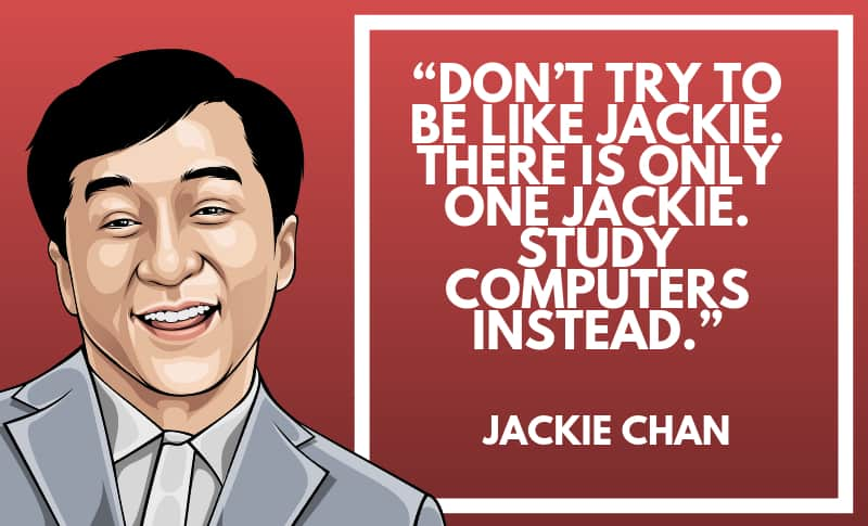 Jackie Chan Picture Quotes 1