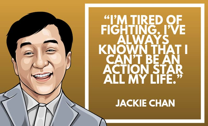 Jackie Chan Picture Quotes 2
