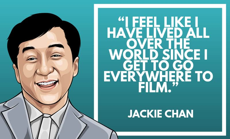 Jackie Chan Picture Quotes 3