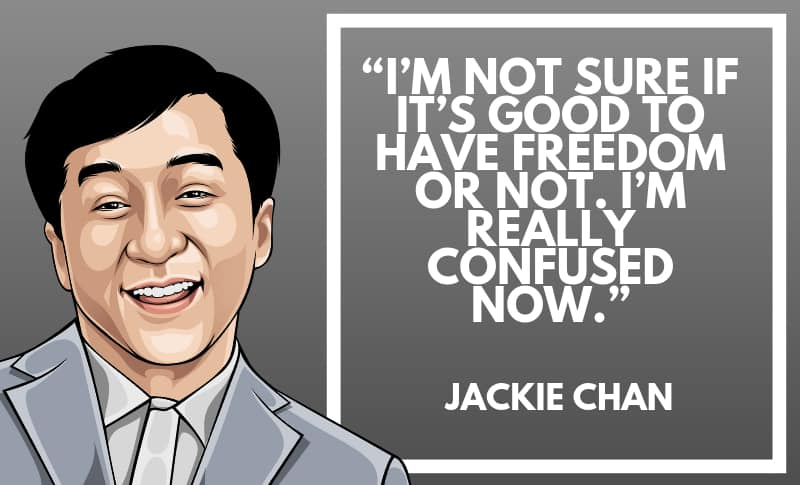 Jackie Chan Picture Quotes 5