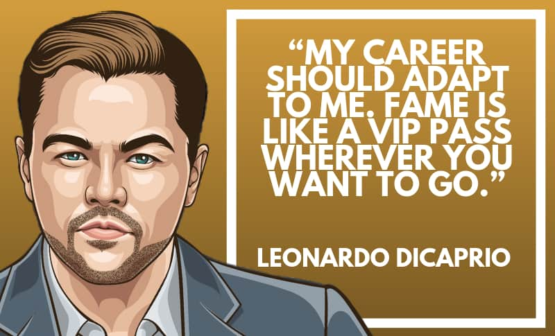 Leonardo DiCaprio Picture Quotes 2