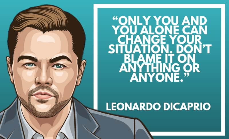 Leonardo DiCaprio Picture Quotes 3