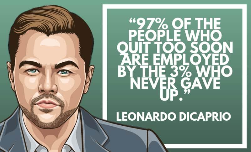 Leonardo DiCaprio Picture Quotes 4