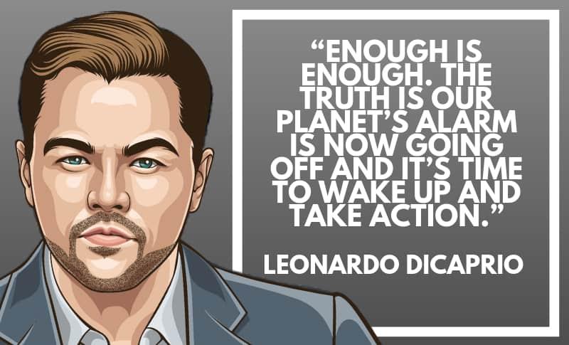 Leonardo DiCaprio Picture Quotes 5