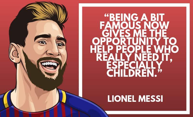Lionel Messi Picture Quotes 1