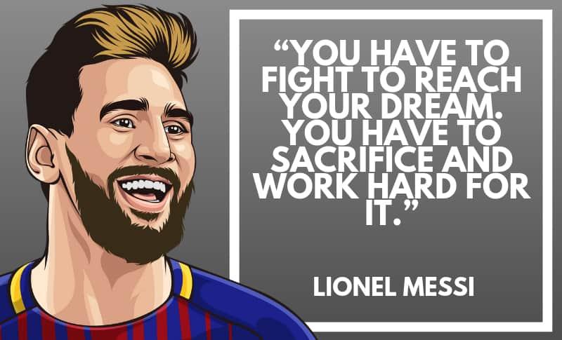 Lionel Messi Picture Quotes 5