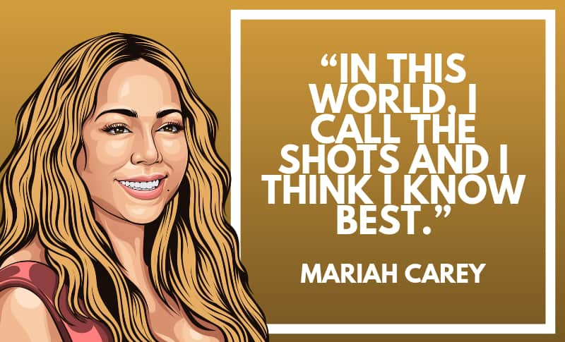 Mariah Carey Picture Quotes 2