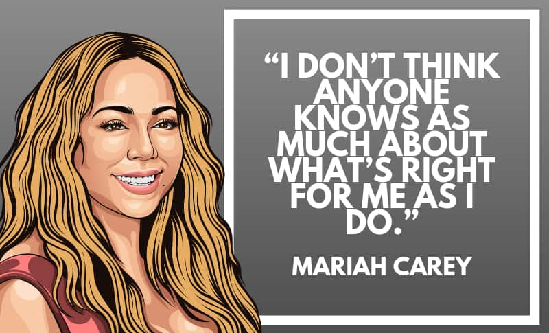 Mariah Carey Picture Quotes 5