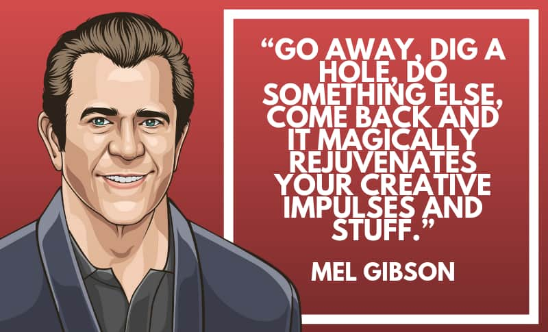 Mel Gibson Picture Quotes 1