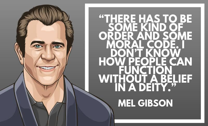 Mel Gibson Picture Quotes 5