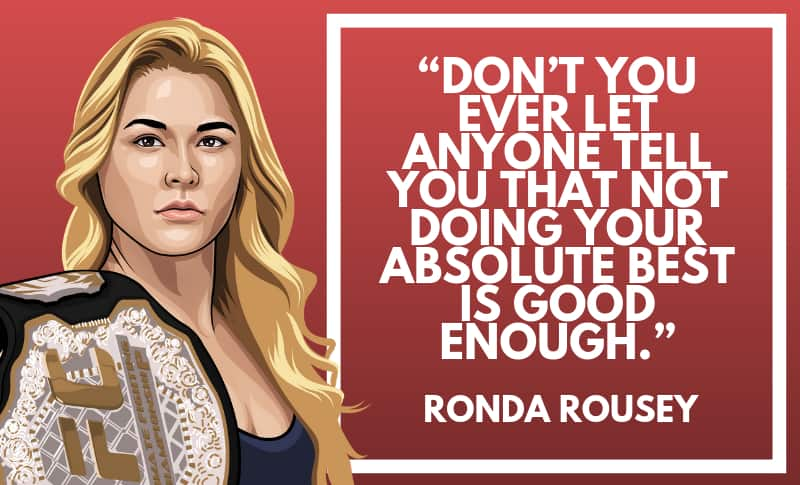 Ronda Rousey Picture Quotes 1