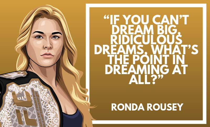 Ronda Rousey Picture Quotes 2