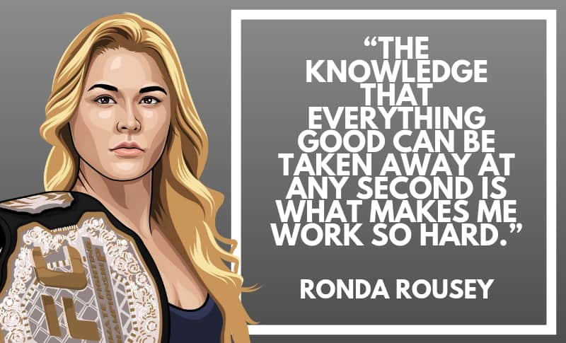 Ronda Rousey Picture Quotes 5