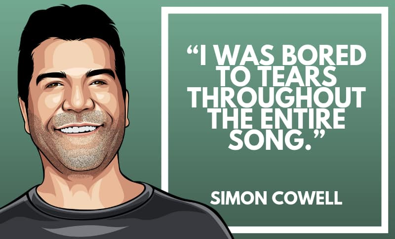 Simon Cowell Picture Quotes 4