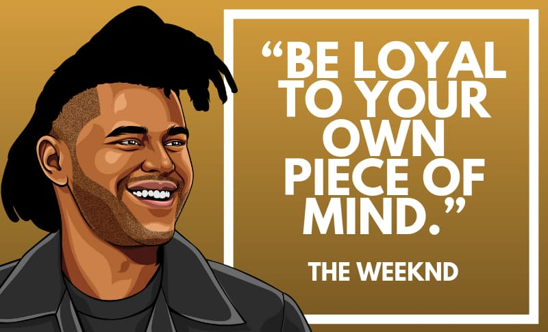 The Weeknd Picture Quotes 2