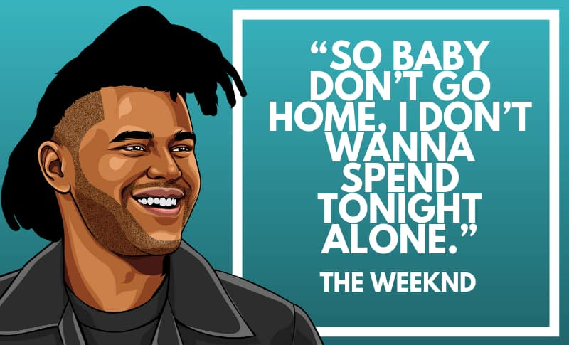 The Weeknd Picture Quotes 3