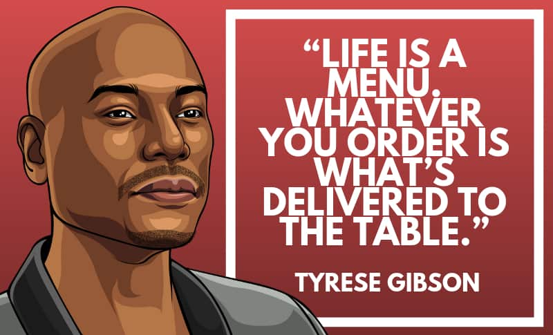 Tyrese Gibson Picture Quotes 1